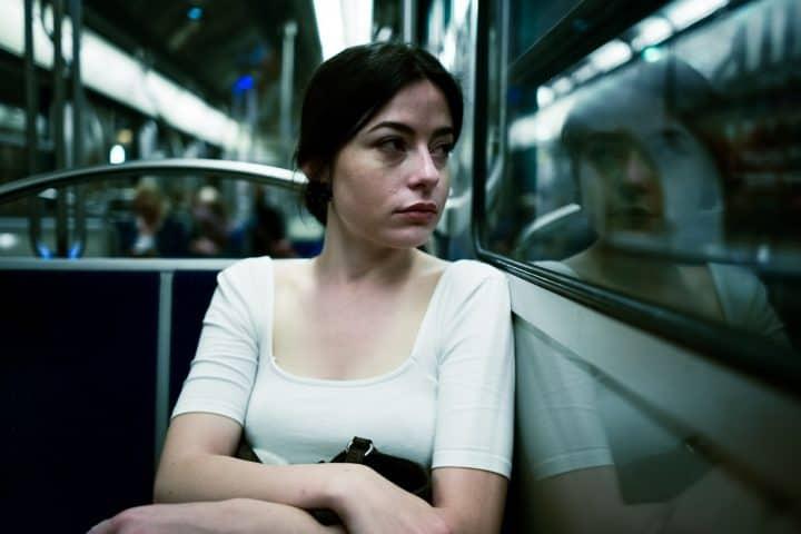 SHE Team QR Code - Women riding train