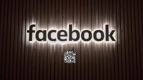 Facebook Pay QR Codes - facebook sign with QR code