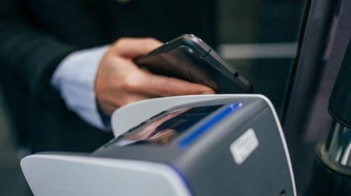 QR code payment link - mobile payment transaction