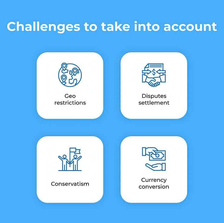challenges p2p mobile app