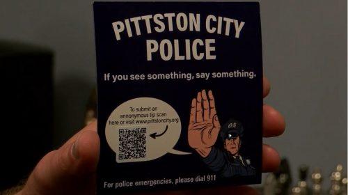 QR code magnets - Pittston City Police - Eyewitness News