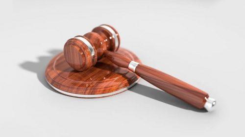 QR code provider - law - fine - gavel