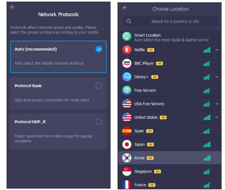 iTop free VPN can be used anywhere in the world