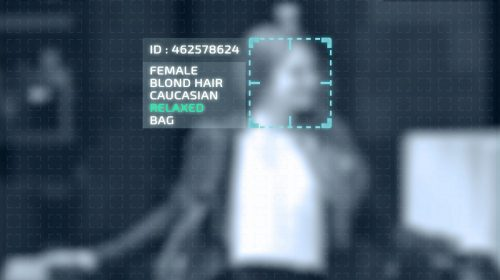 Facial recognition - security camera - tracking