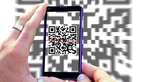 News QR codes - QR code scan