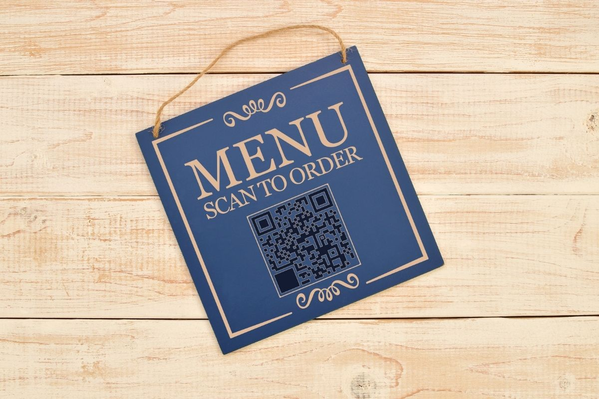 QR code menus