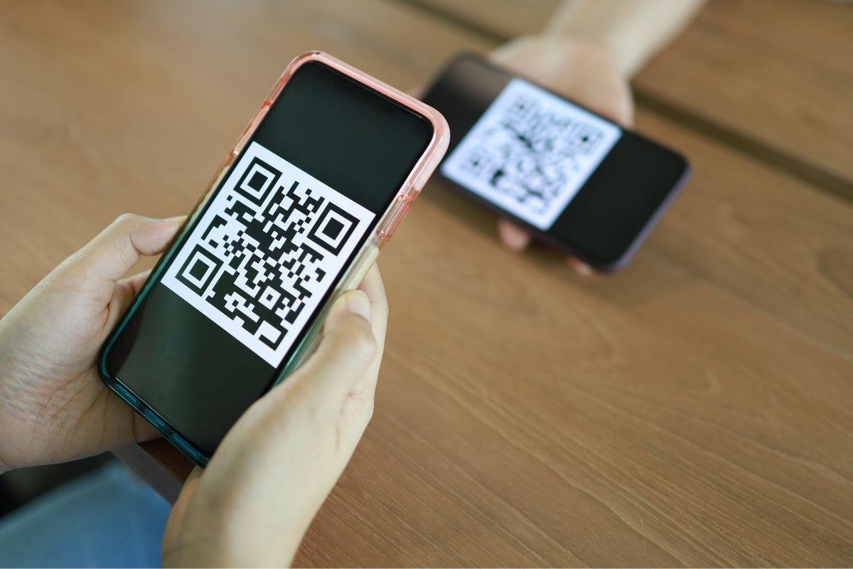 QR code payments - QR code mobile scan