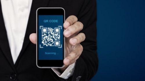 QR code - scan - app