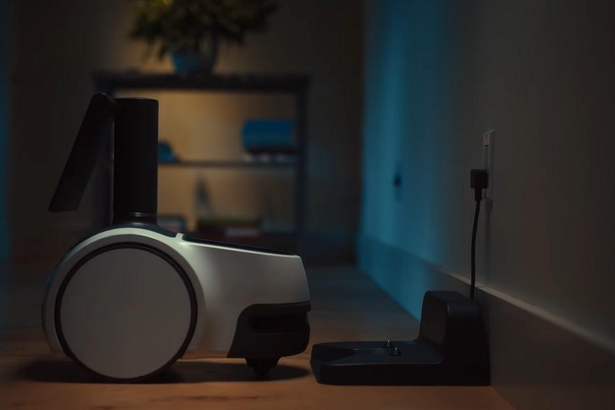 Introducing Amazon Astro - Astro Robot charging - Amazon Official YouTube