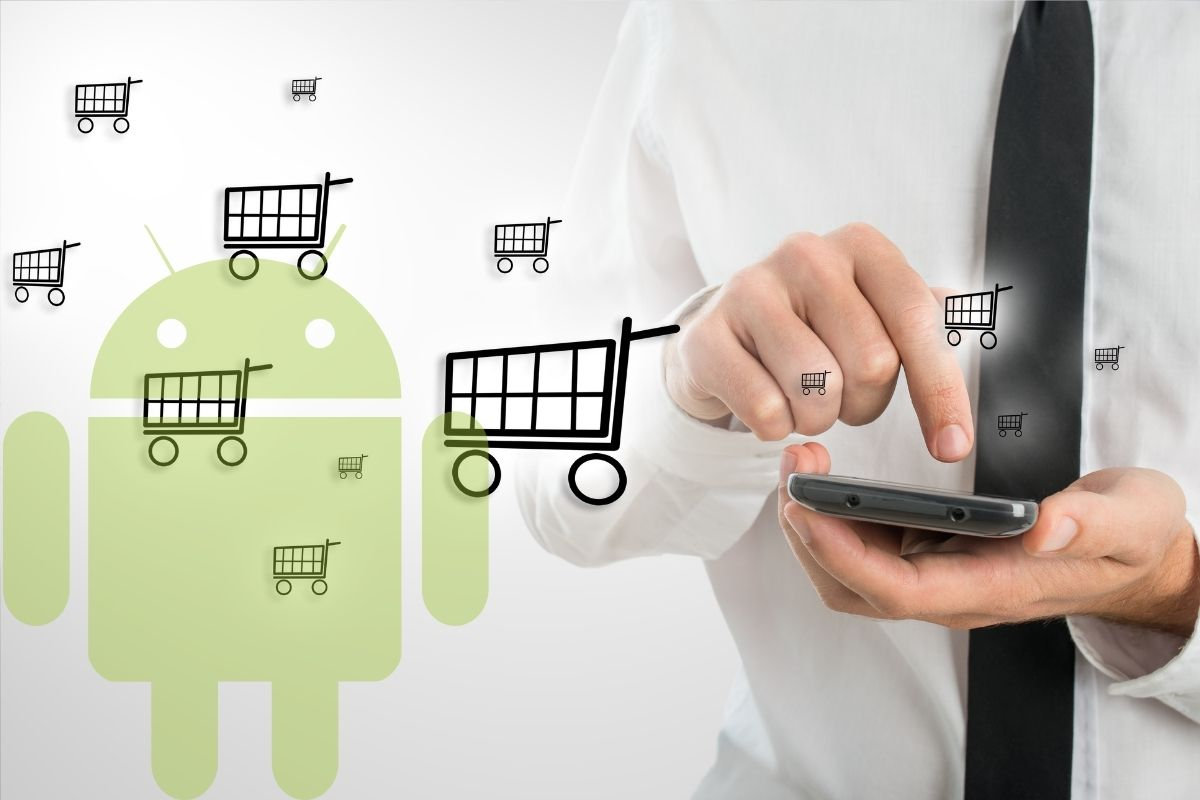 Mobile commerce - Android shopping