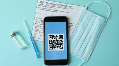 QR Code verification - Vaccination records