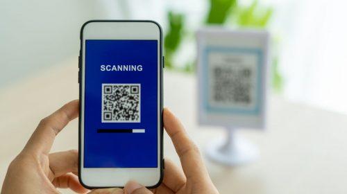 QR code check-in - scan qr code