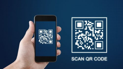 QR code technology - Scanning quick response code