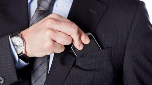 Smartphone magnetic fields - Phone in jacket pocket