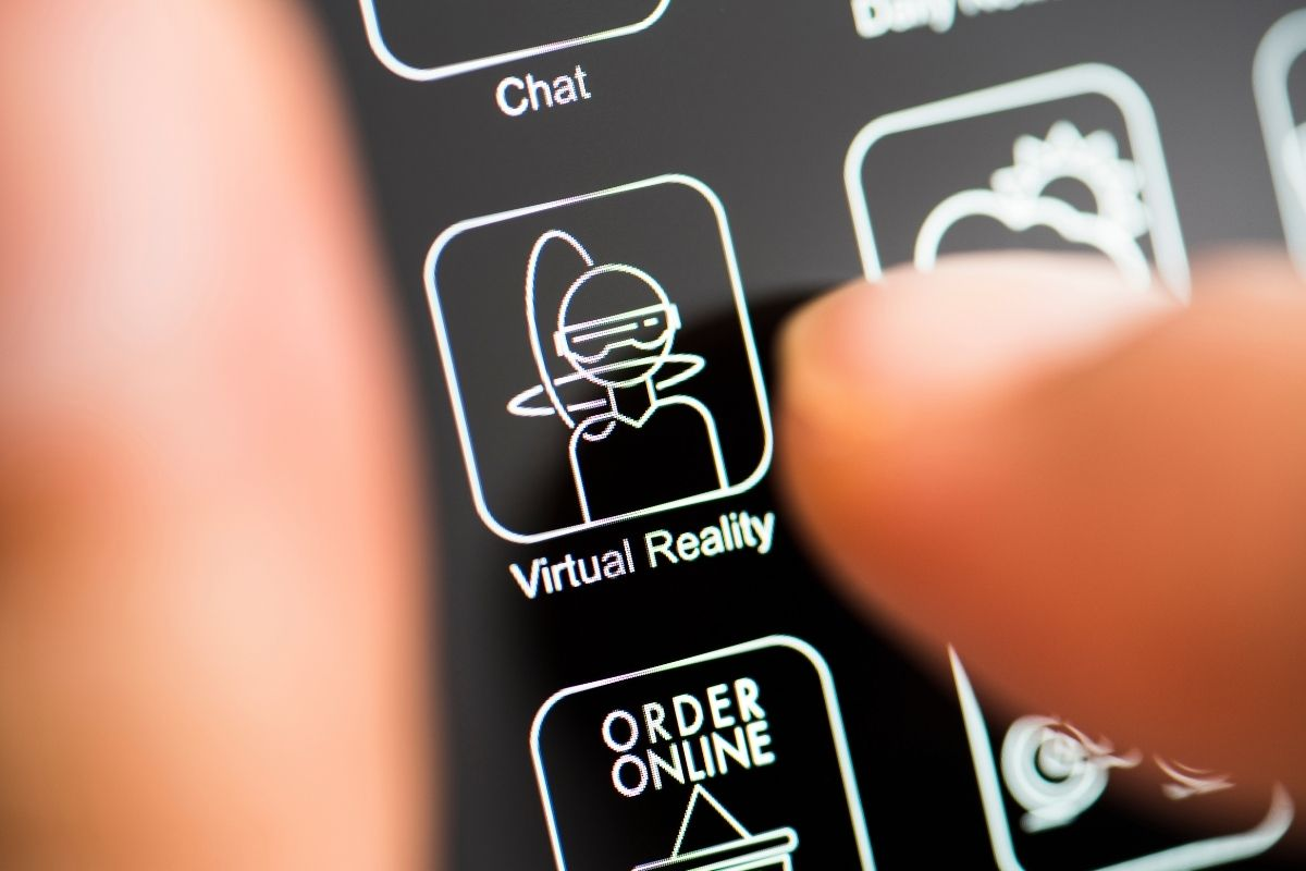 VR Meetings App - virtual reality application