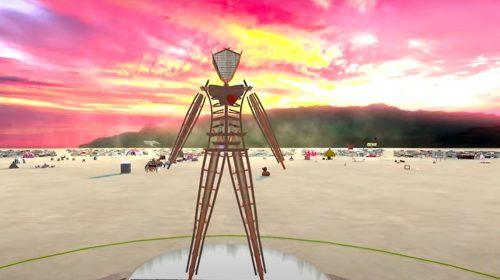 Virtual reality event - Virtual Burn 2021 Teaser BRCvr - Burning Man Project