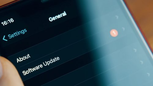 iPhone updates - software update