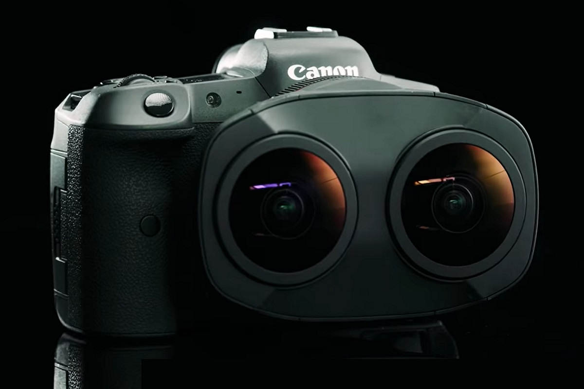 VR Camera - Shoot VR with Canon's New RF5.2mm F2.8 L Dual Fisheye Lens - Canon USA YouTube Official